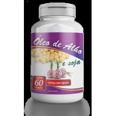 Óleo de Alho – Frasco com 60 cápsulas de 500mg